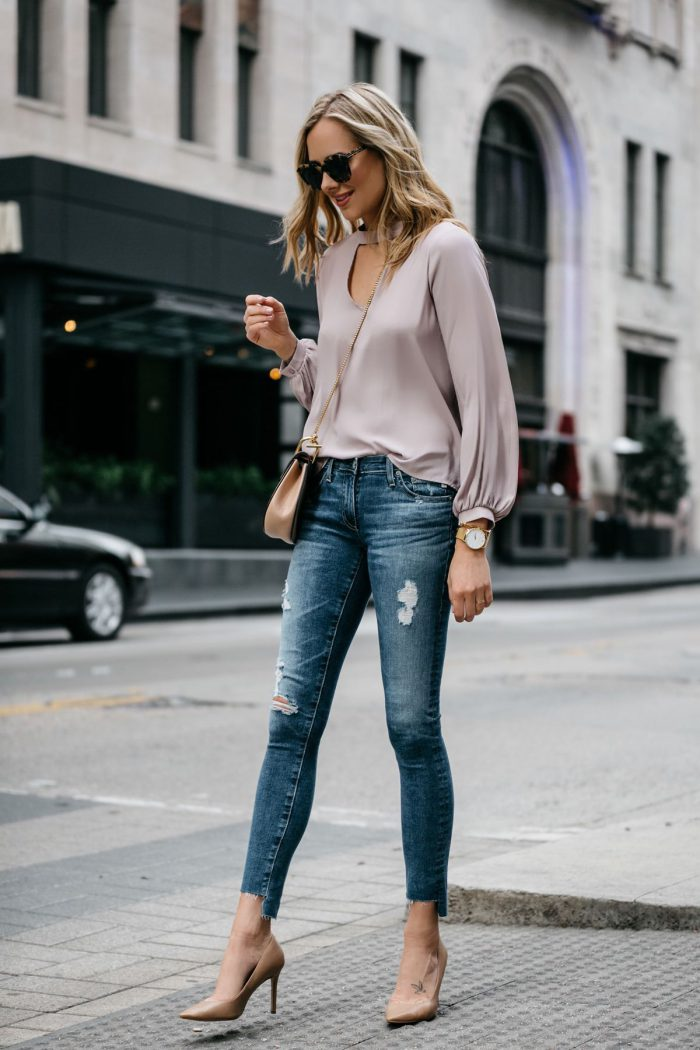 What To Wear With Nude Heels
