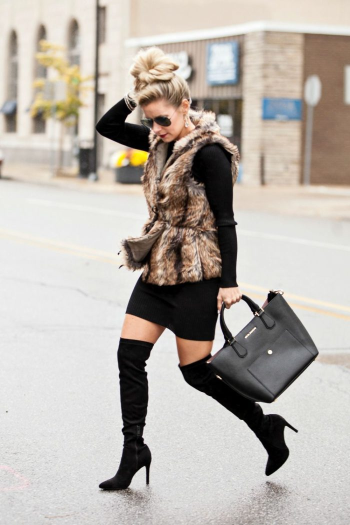 2018 Fur Waistcoats For Women Simple Looks To Try (10)