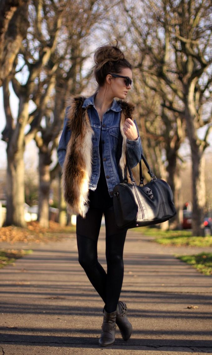 2018 Fur Waistcoats For Women Simple Looks To Try (11)