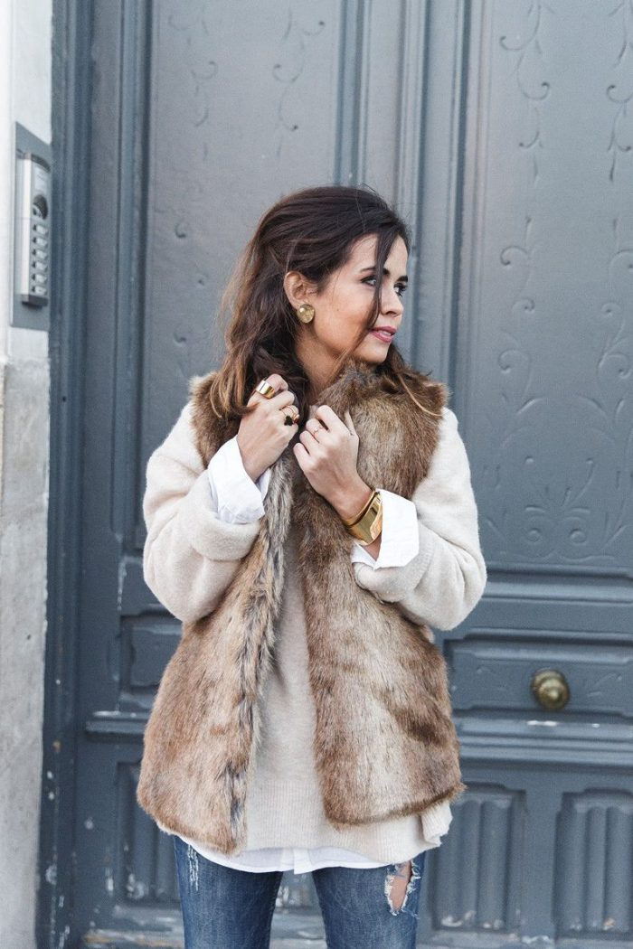 2018 Fur Waistcoats For Women Simple Looks To Try (12)