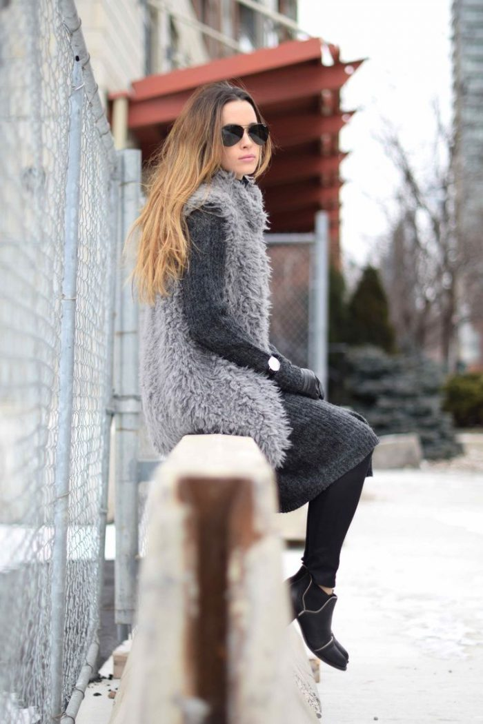 2018 Fur Waistcoats For Women Simple Looks To Try (13)