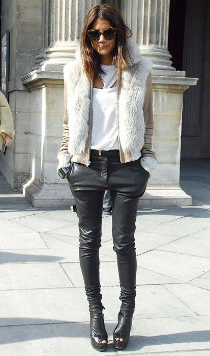 2018 Fur Waistcoats For Women Simple Looks To Try (14)