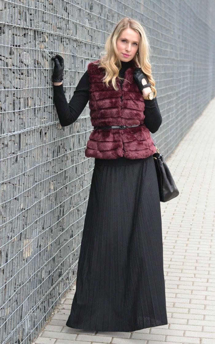 2018 Fur Waistcoats For Women Simple Looks To Try (16)