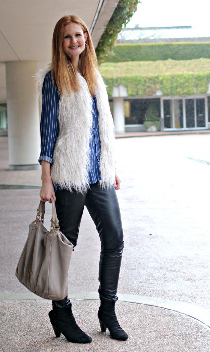 2018 Fur Waistcoats For Women Simple Looks To Try (19)