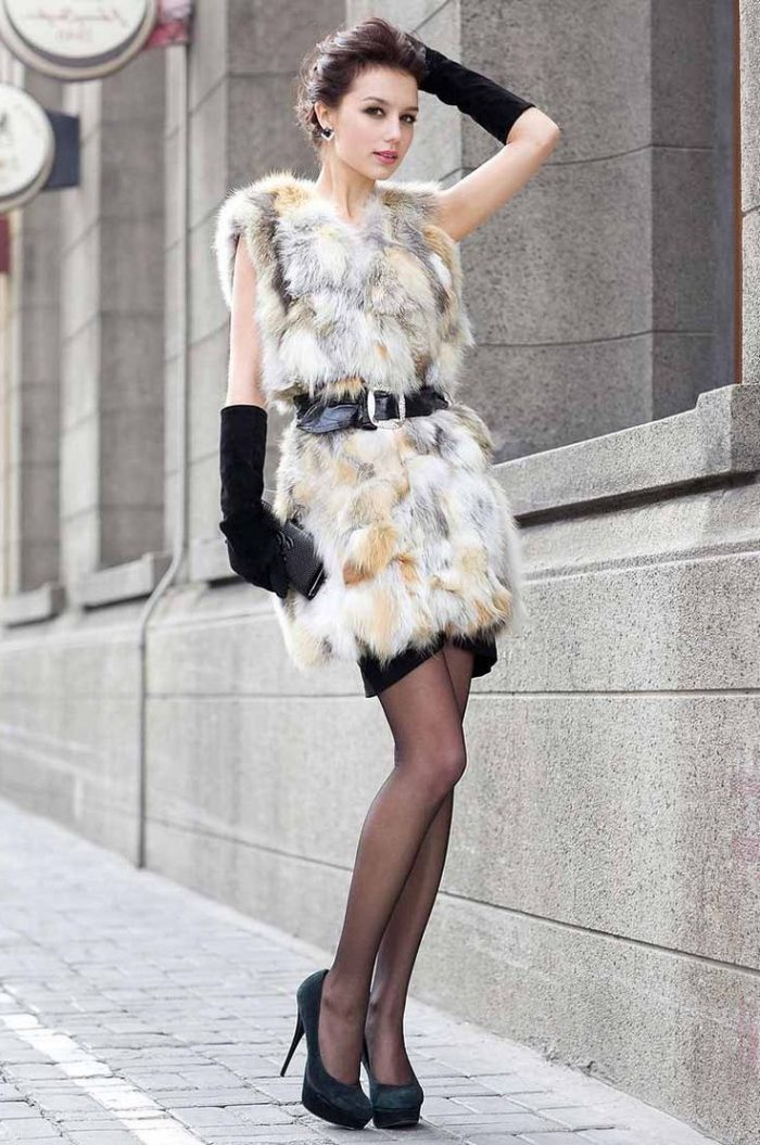 2018 Fur Waistcoats For Women Simple Looks To Try (3)