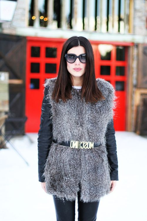 2018 Fur Waistcoats For Women Simple Looks To Try (4)
