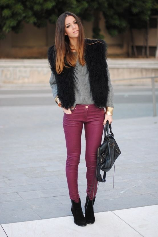 2018 Fur Waistcoats For Women Simple Looks To Try (7)