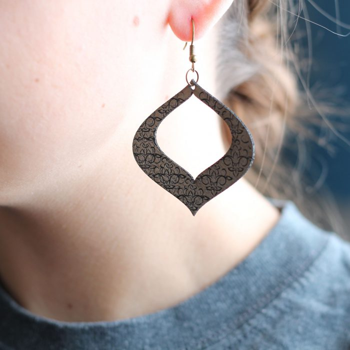Leather Earrings for Women 2021