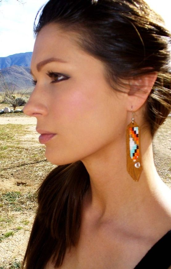 Leather Earrings for Women 2019