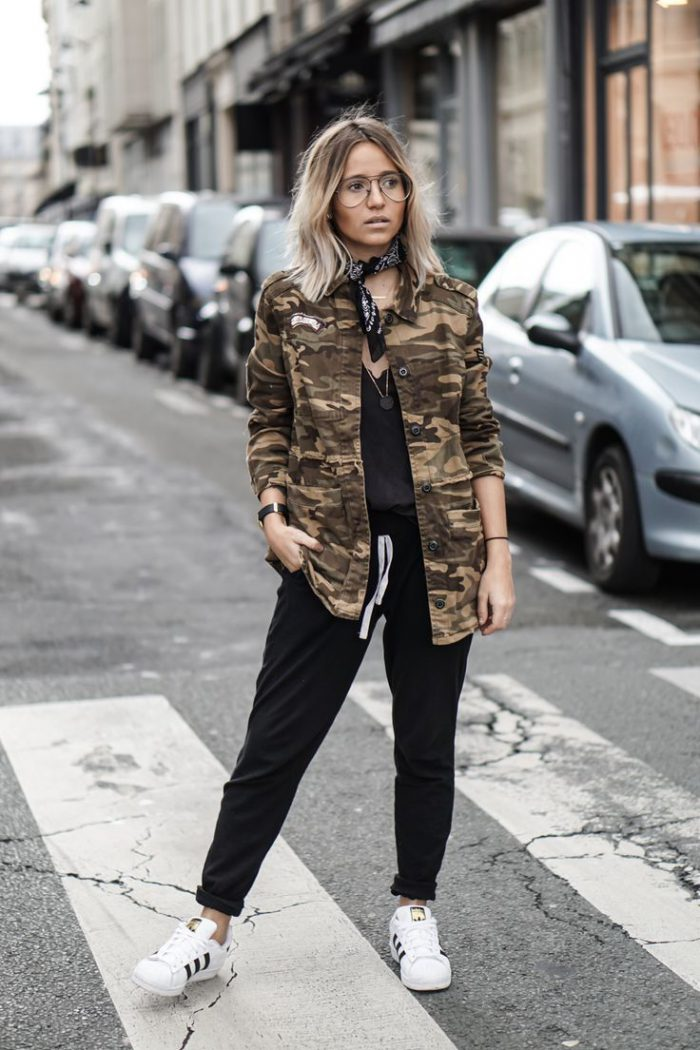 What Should Women Wear with Military Jackets 2019
