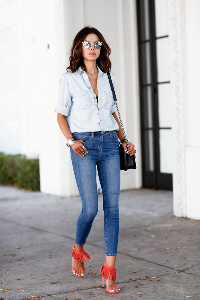 57d0a58810e Best Ways to Style Skinny Jeans 2019 - FashionMakesTrends.com