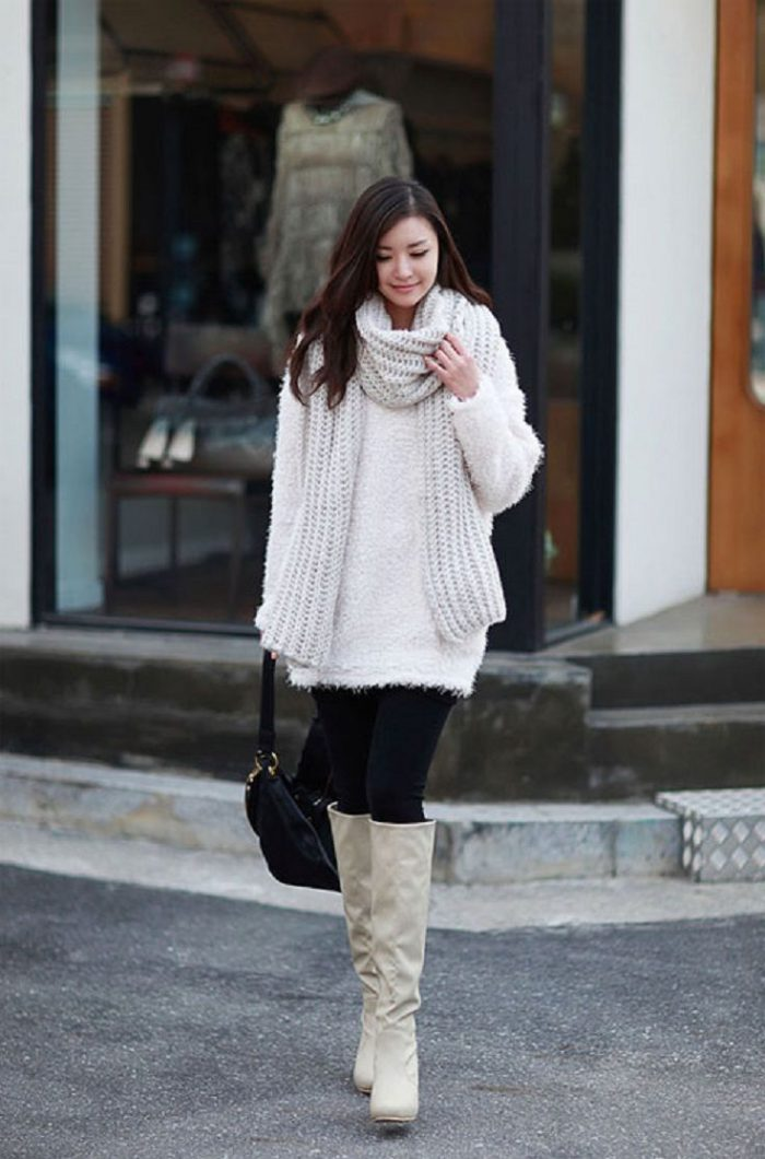 Winter Simple Outfit Ideas For Women 2019