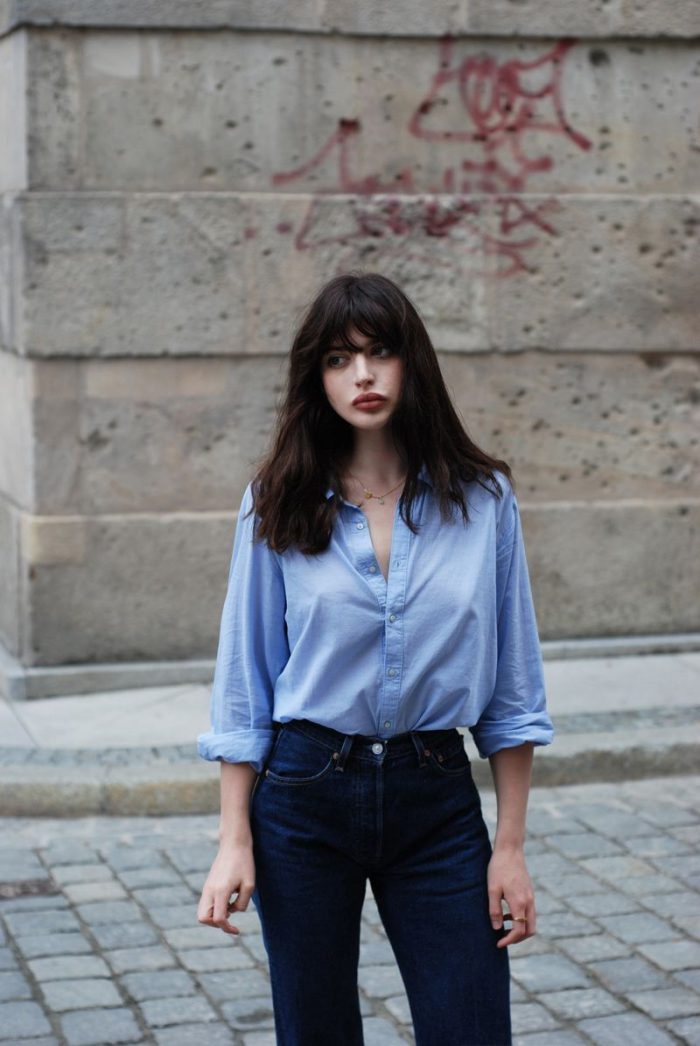 How to Make Button-Down Shirts Look Feminine 2020