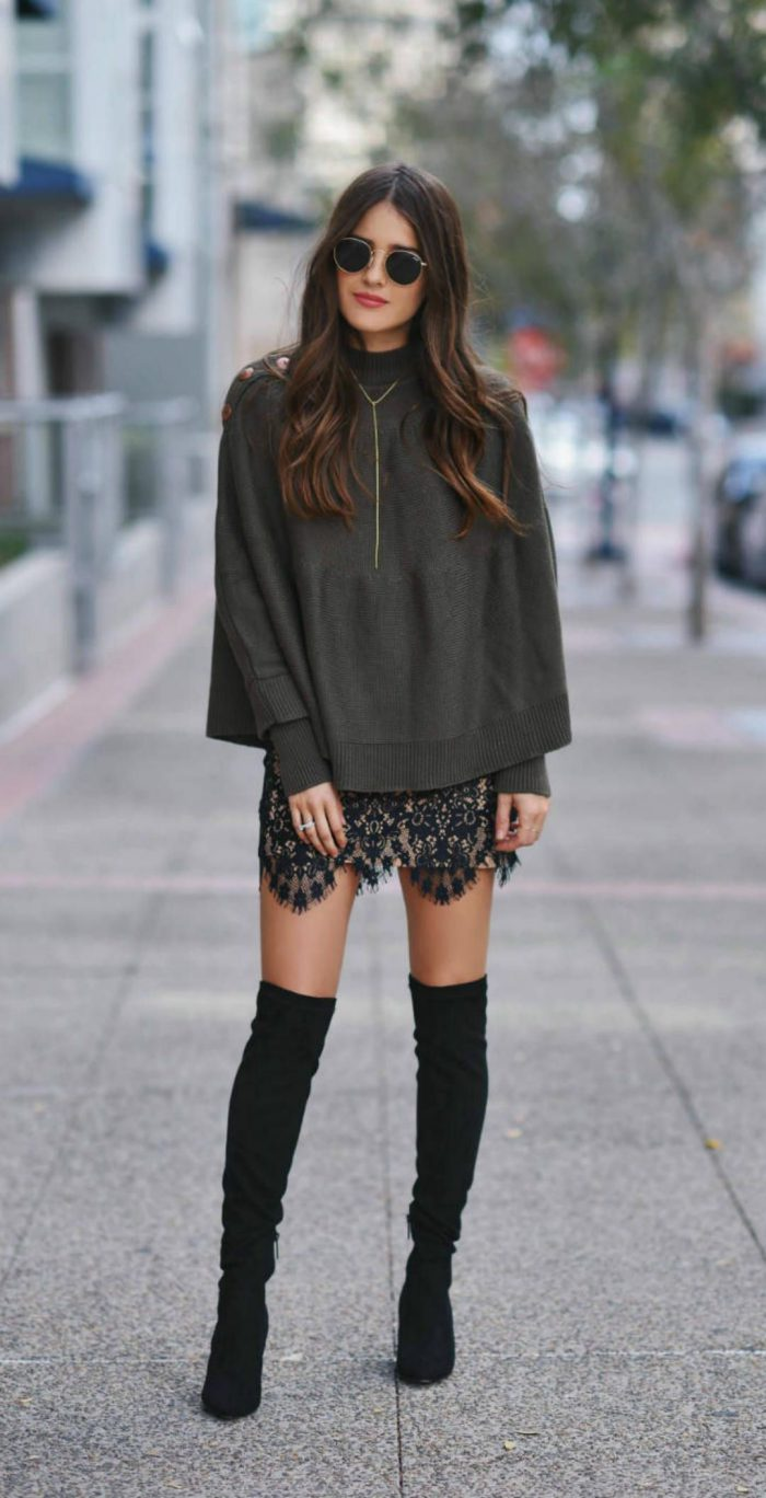 d6036ccc5fd How to Wear Knee-High Boots 2019 - FashionMakesTrends.com