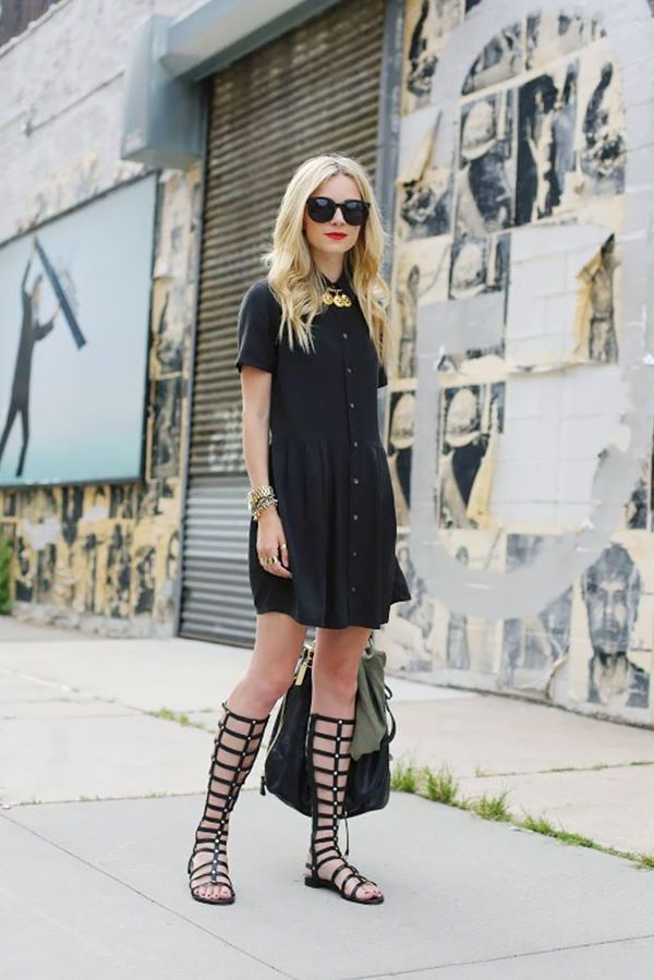 2018 Gladiator Sandals For Women Best Street Style (10)