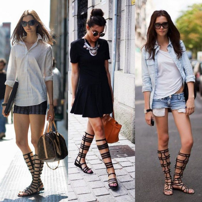 2018 Gladiator Sandals For Women Best Street Style (42)