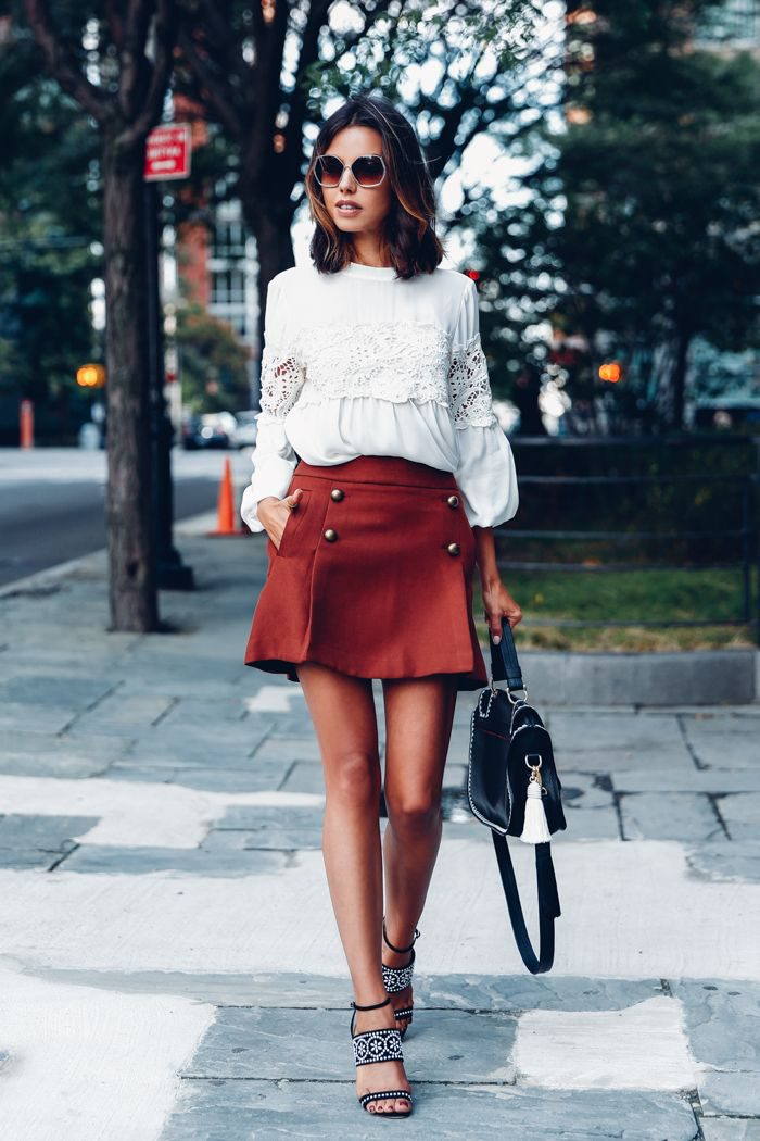 2018 High Waist Skirts For Women Street Style Looks (2)