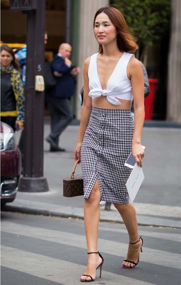 Best Ways How to Wear High-Waist Skirts 2021