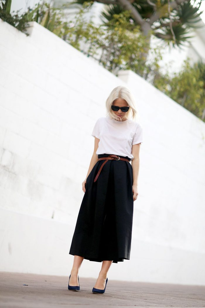 2018 High Waist Skirts For Women Street Style Looks (38)