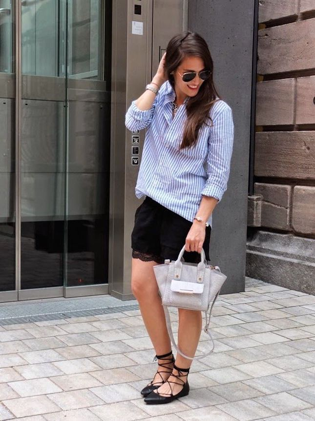 How to Wear Lace-Up Flats And Stay Trendy 2020