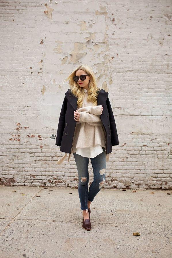 Layering Shirts with Knitwear 2020