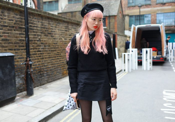 2018 London Fashion Week Street Style (1)