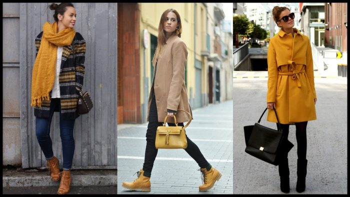How And With What to Wear Mustard Color 2019