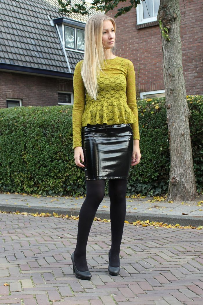 e588eb162 Best Ways To Wear Patent Skirts 2019 - FashionMakesTrends.com