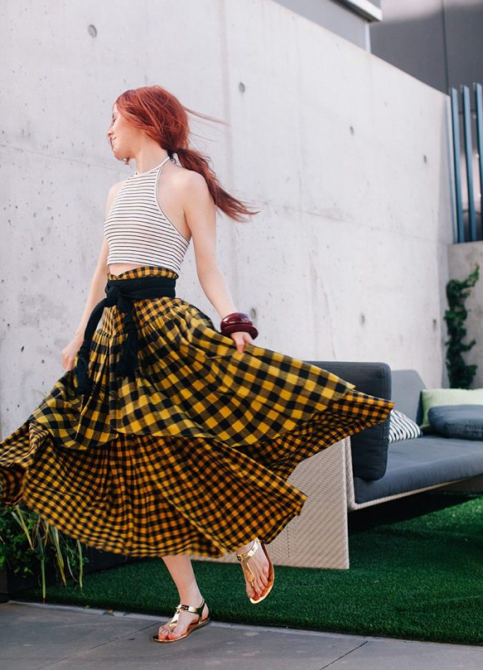 How To Wear Peasant Skirts 2020