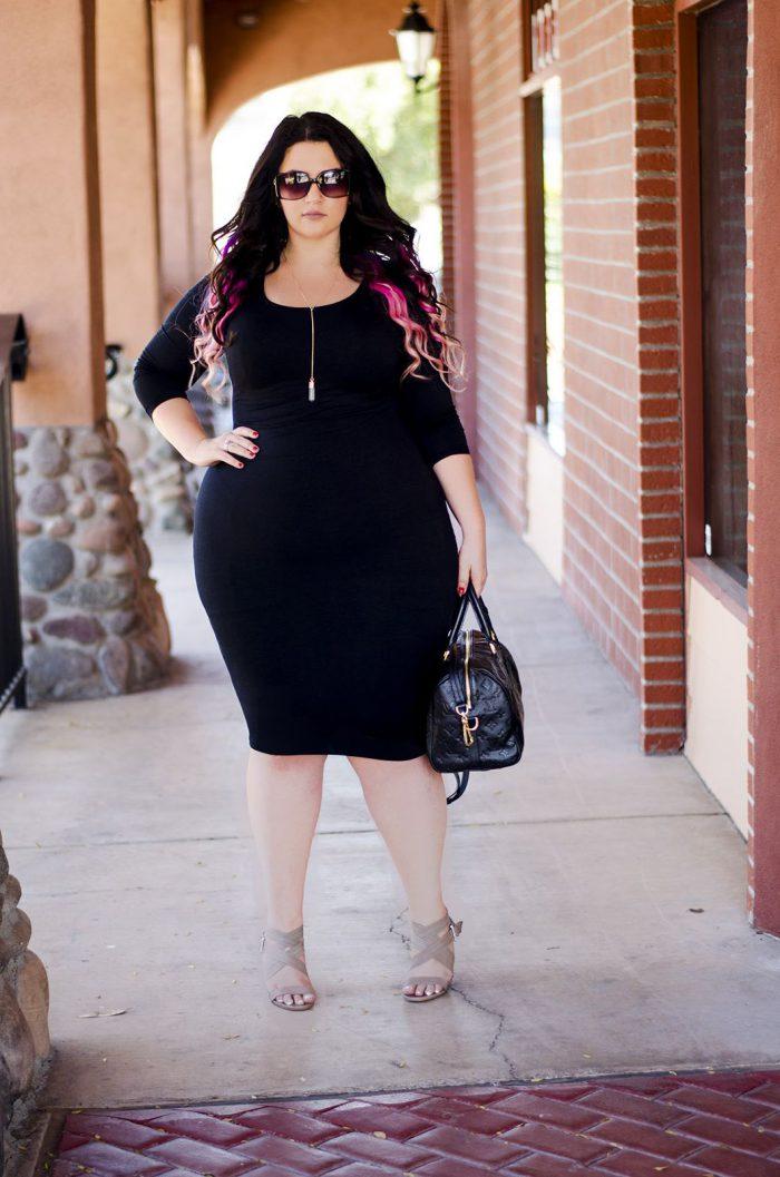 Black Dresses for Plus Size Women 2020