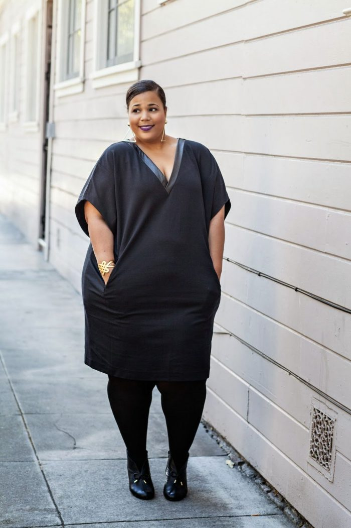 Black Dresses for Plus Size Women 2020