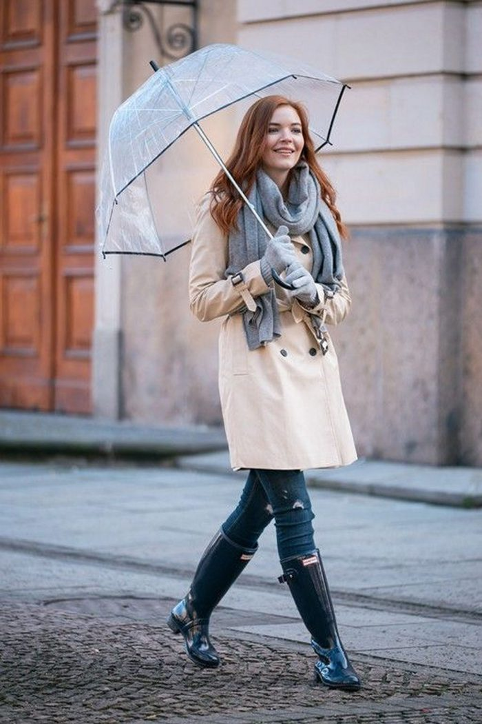 Rainy Day Outfit Ideas For Women 2020