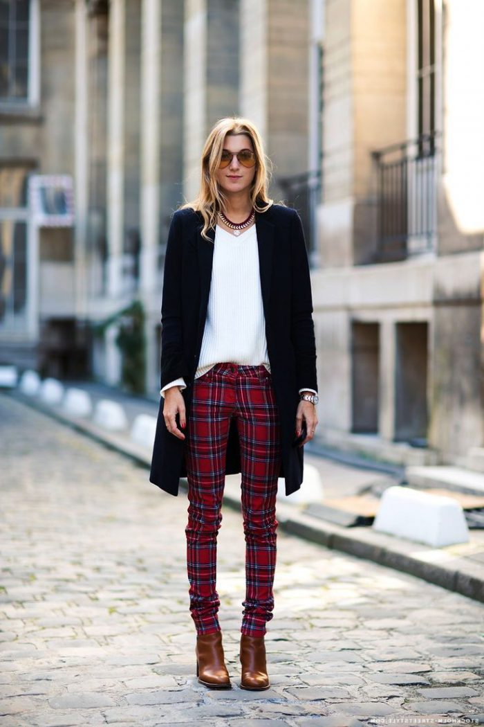 How to Wear Tartan Print 2019