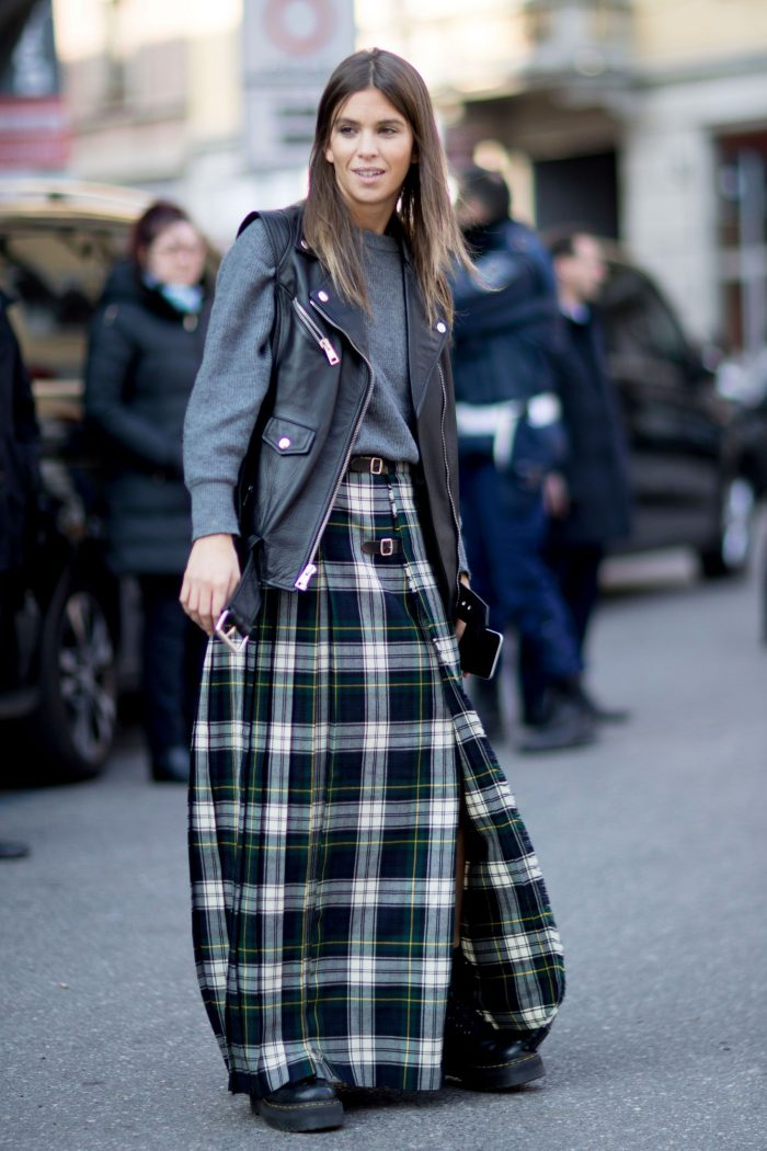 How to Wear Tartan Trend 2020