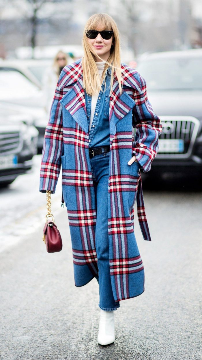 How to Wear Tartan Trend 2021