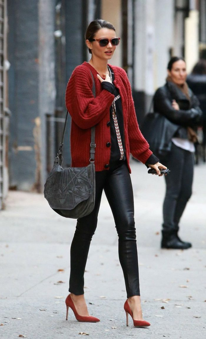 Winter Street Style Celebrity Outfits Inspiration 2019 ...