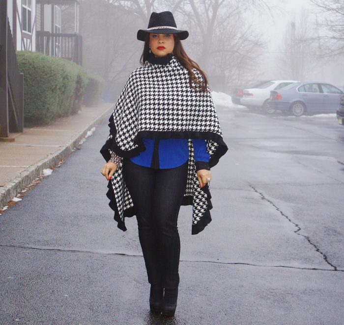 How To Wear Houndstooth Print In Winter 2021