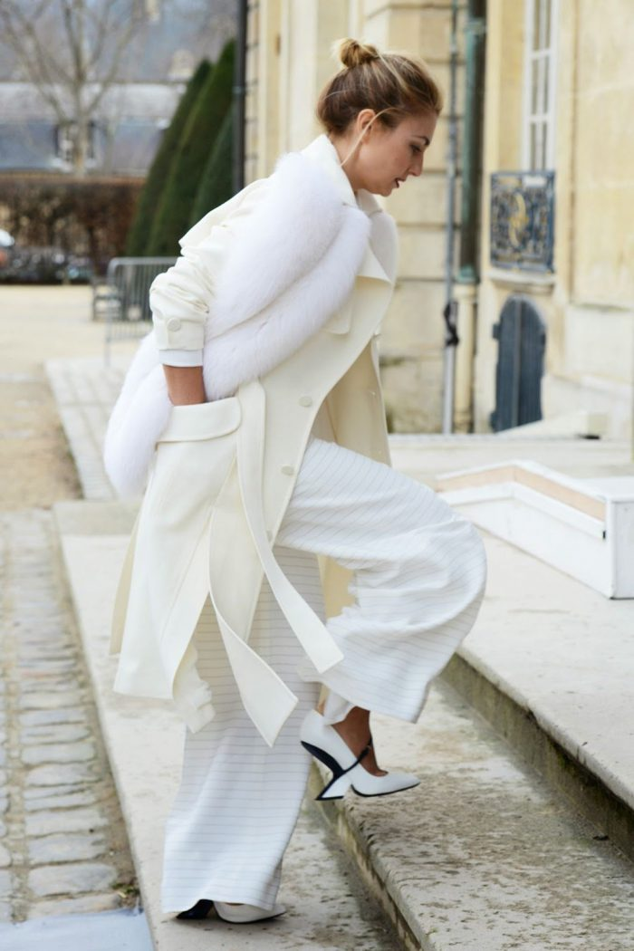 Winter White Outfits 2020