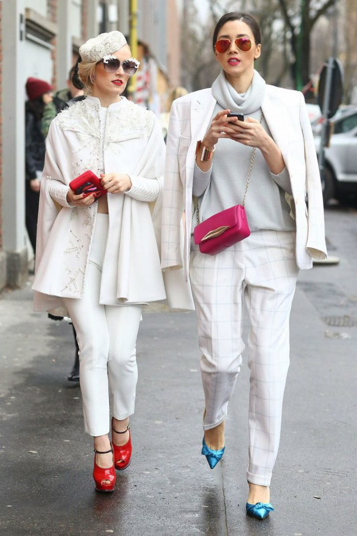 Easy And Beautiful Winter White Outfits To Wear 2020