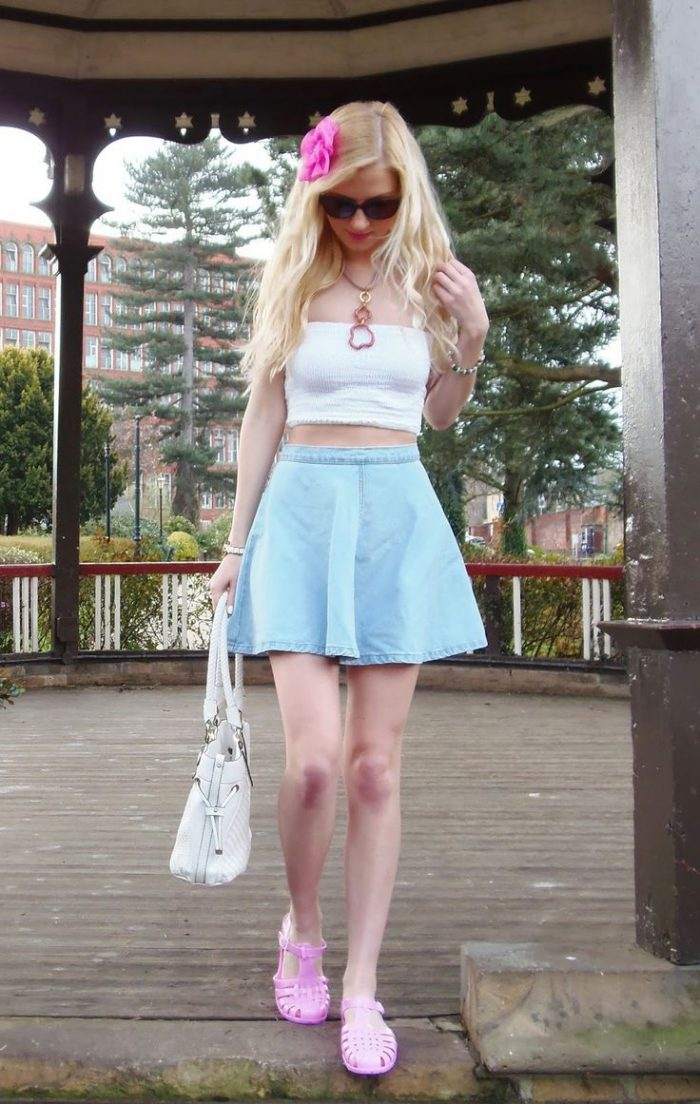 39 Denim Skirts That Are Super Trendy This Summer 2019