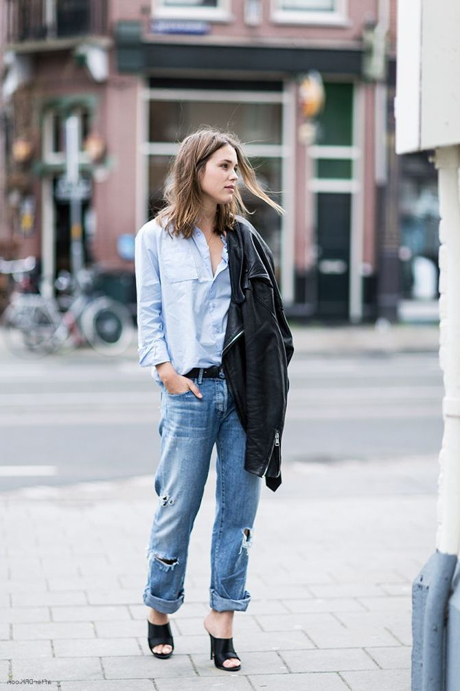 How to Style Your Boyfriend Jeans 2020
