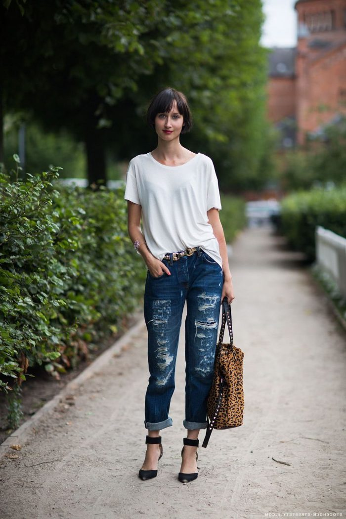 Make Your Boyfriend Jeans Look Insanely Hot 2020