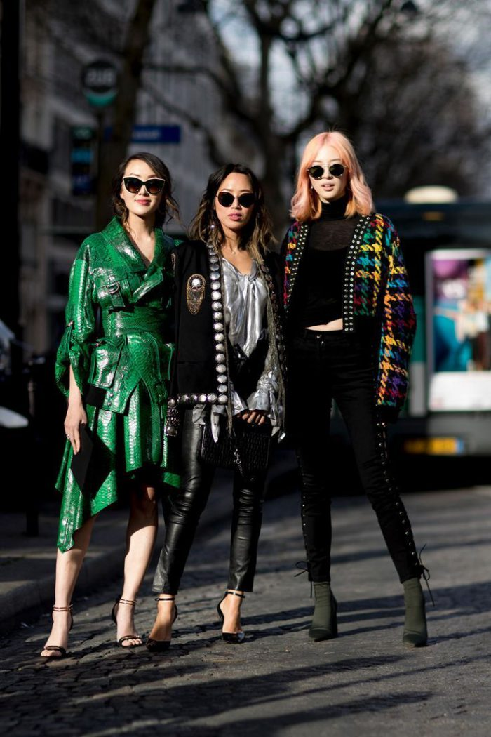 36 Must-Try Colored Leather Looks For Women 2021