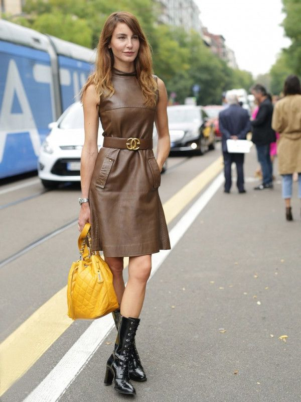 36 Must-Try Colored Leather Looks For Women 2019