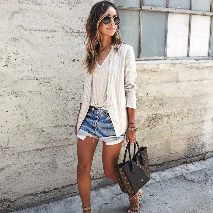 22 Ways To Wear Denim Cutoffs 2021