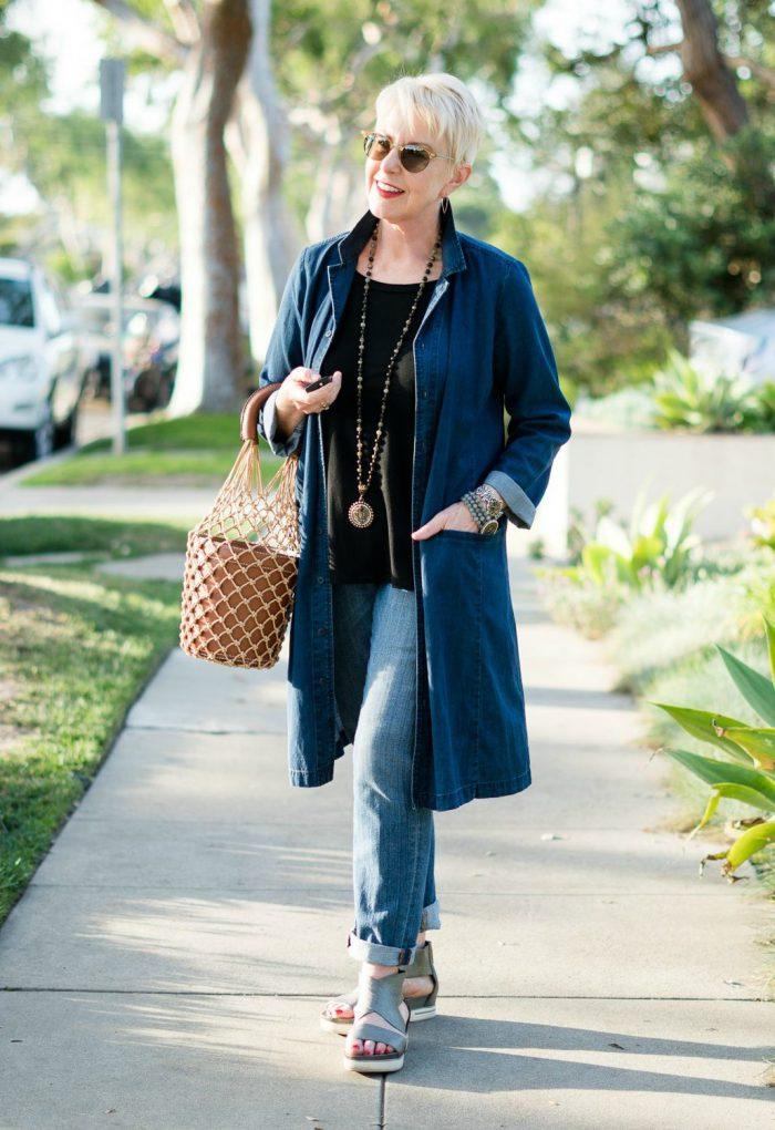 35 Ways to Wear Denim on Denim Trend 2020