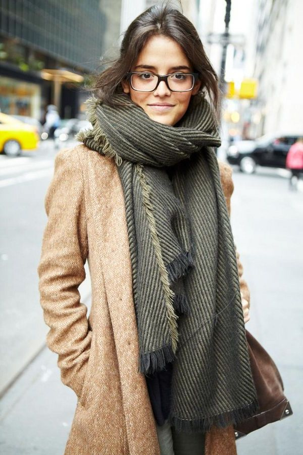 2018 Fall Scarves For Women Inspiring Street Style Ideas To Try (30)