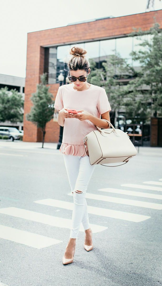 2018 Fall White Pants For Women Best Street Style Ideas (22)