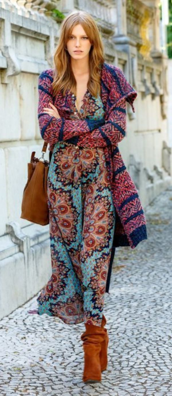 33 Hippie Style Outfit Ideas For Women 2019