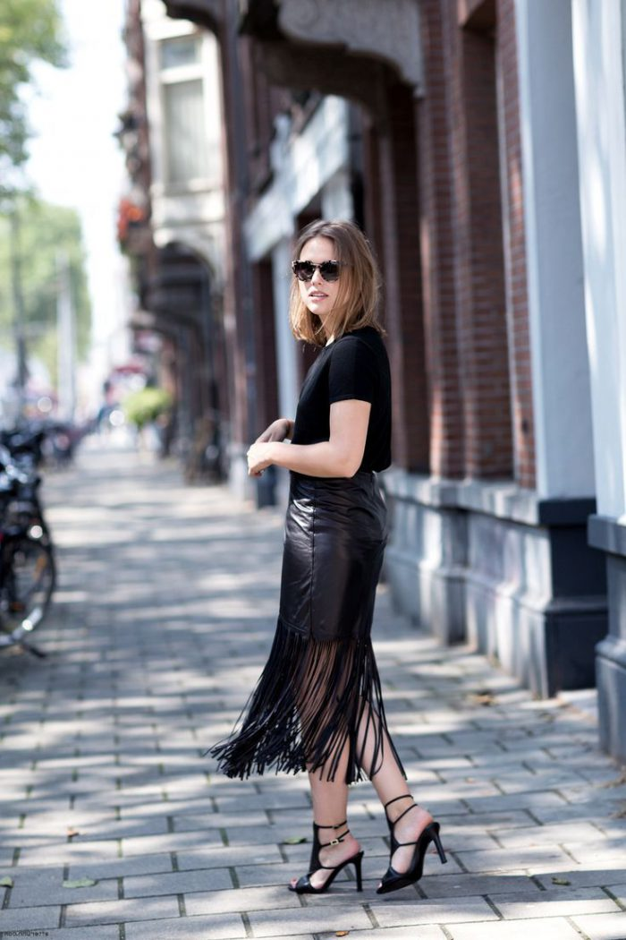 Best Ways To Wear Leather Skirts 2020
